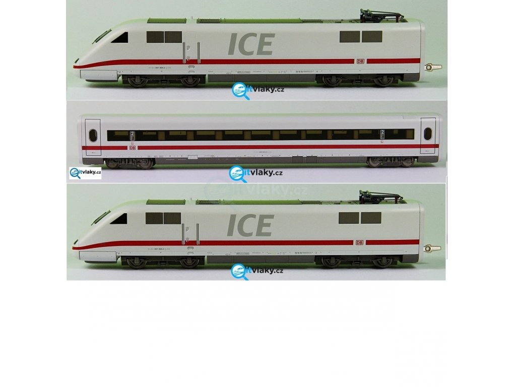 TT - ICE vysokorychlostní vlak, 3-dílný DB AG/ Tillig 01353