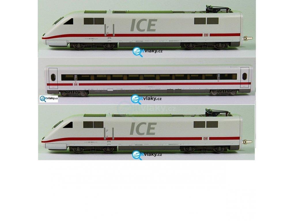 ARCHIV TT - ICE vysokorychlostní vlak, 3-dílný DB AG/ Tillig 01353