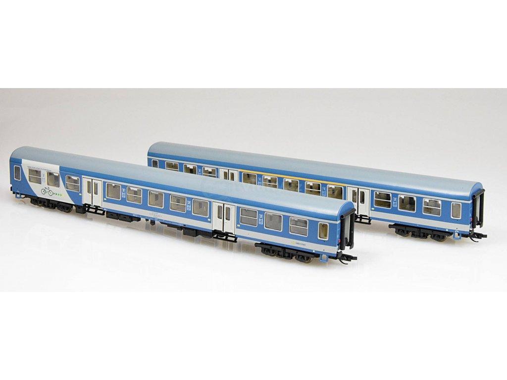 ARCHIV TT - set dvou osobních vozů typu Halberstadt MÁV START / Tillig 01625