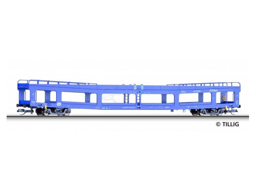ARCHIV TT - jeden vůz DDm ČD pro přepravu automobilů / ze setu Tillig 01641