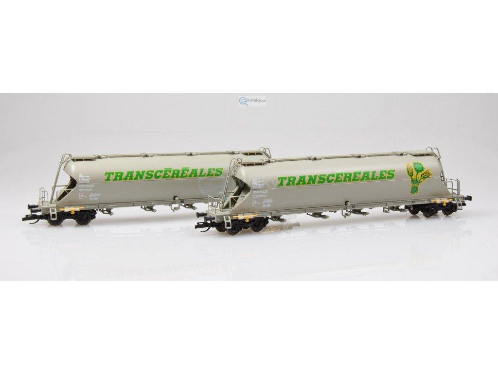 """ARCHIV TT - 2-dílný set vozů na přepravu sypkých hmot """"TRANSCEREALES"""" /  TILLIG 01715"""