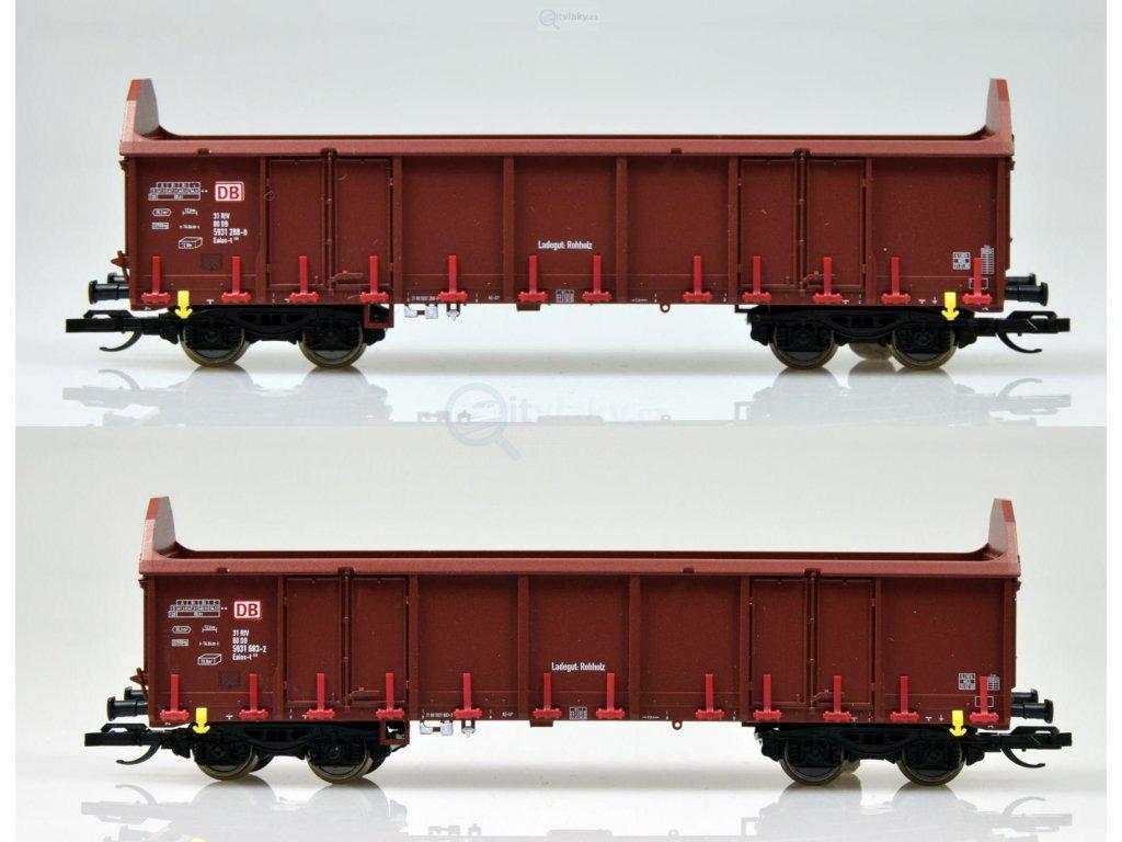 TT - Set dvou otevřených nákladních vozů Ealos-t 058, DB AG/ TILLIG 01741