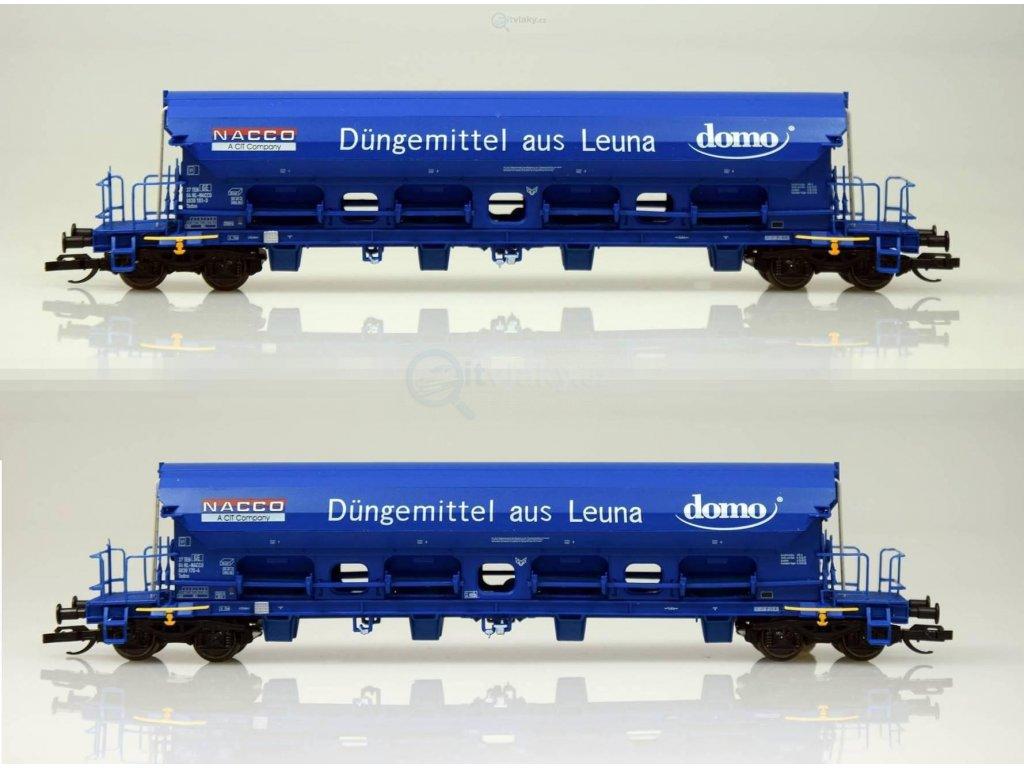 """TT - Set dvou výsypných vozů Tads """"NACCO/DOMO"""" / TILLIG 01743"""