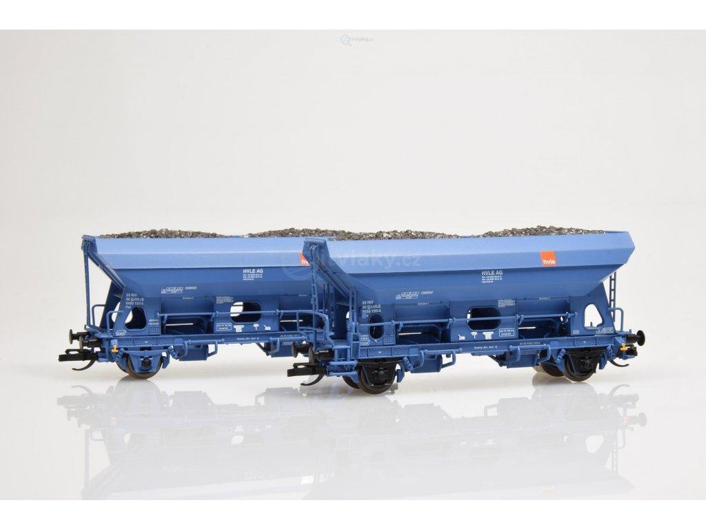 TT - Set dvou výsypných vozů Fcs HVLE AG / Tillig 01767