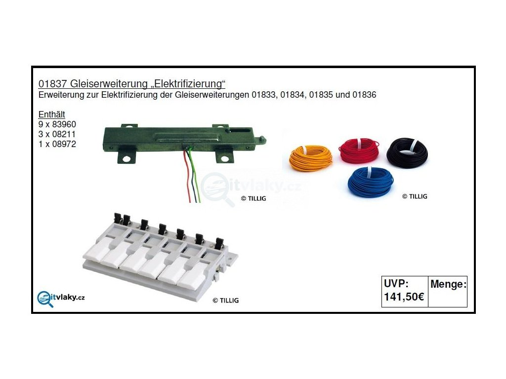 231043 tt kolejovy set elektrizace tillig 01837