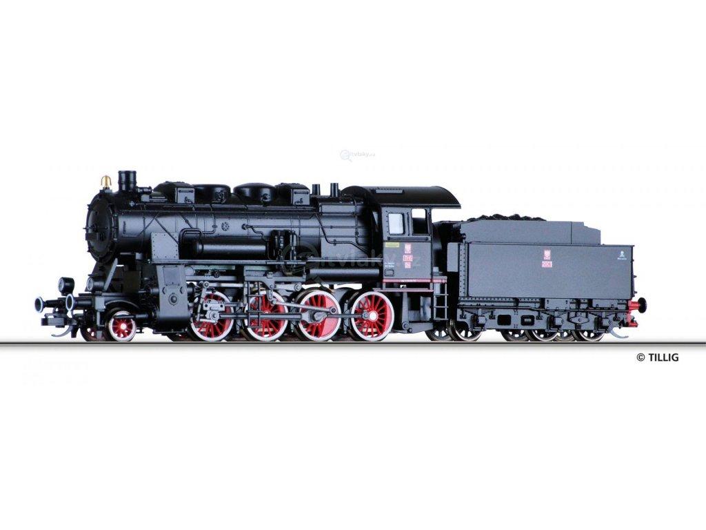 TT - Parní lokomotiva Tr6, PKP /  TILLIG 02235
