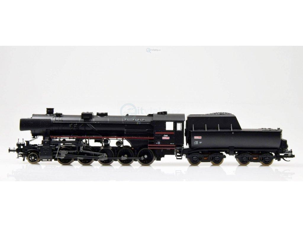 ARCHIV TT - Parní lokomotiva řady 555.0, ČSD, s ušima /  TILLIG 02269