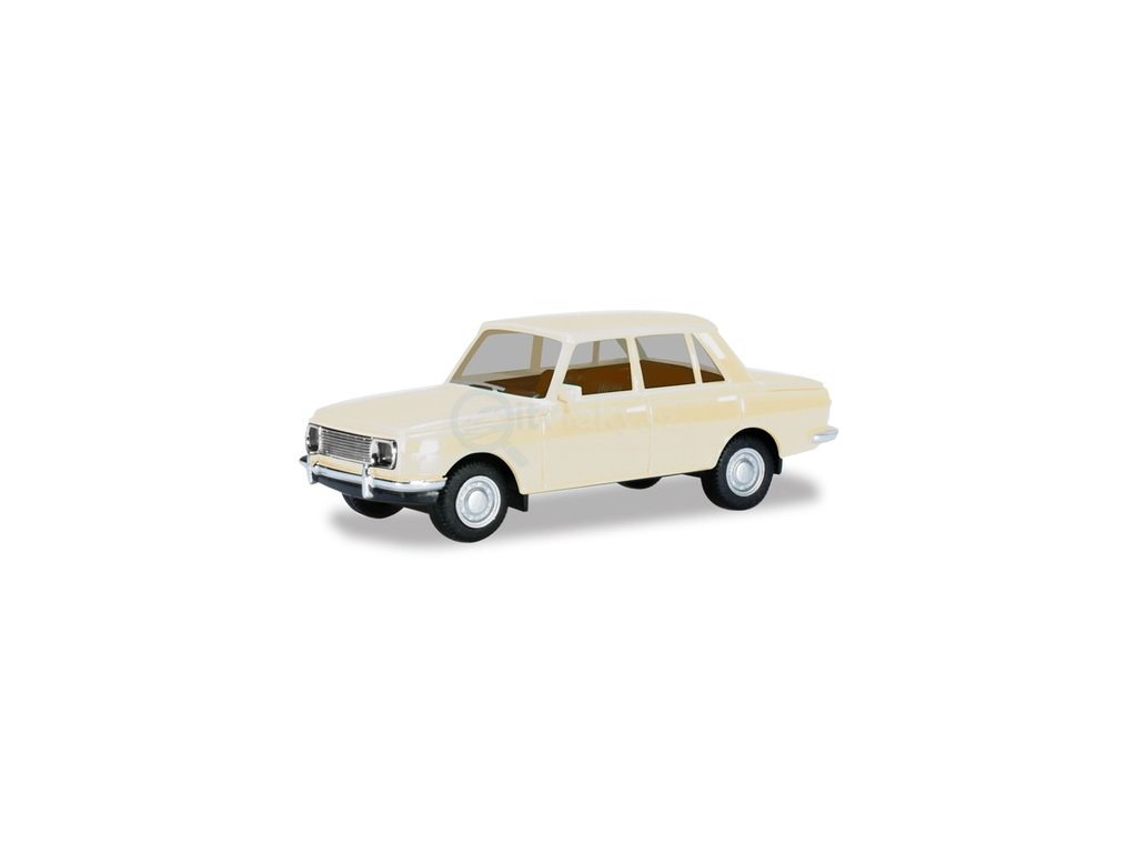 H0 - Wartburg 353 standard, perleťově bílý / Herpa 022903-004