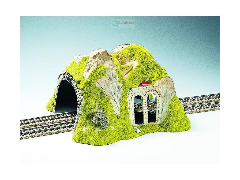 H0 - Tunel, 2-kolejný, rovný / NOCH 02430