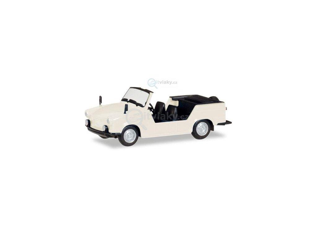 H0 - Trabant Kübel, perleťově bílá / Herpa 024808
