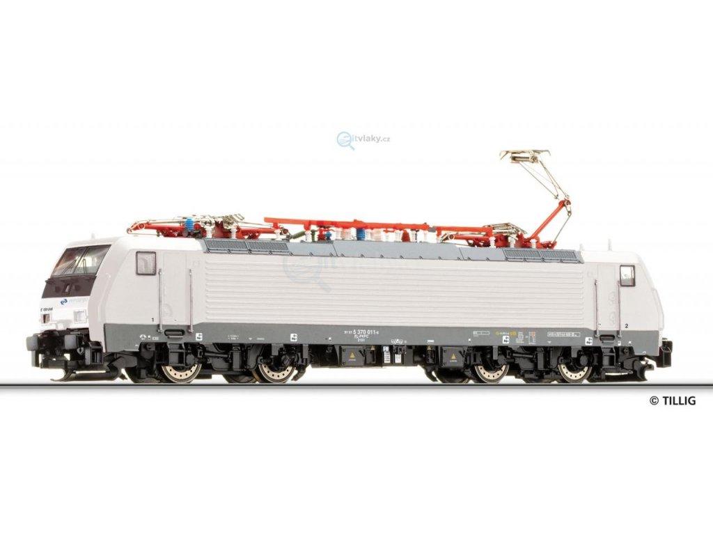 TT - elektrická lokomotiva EU 45-846, PKP Cargo / TILLIG 02486