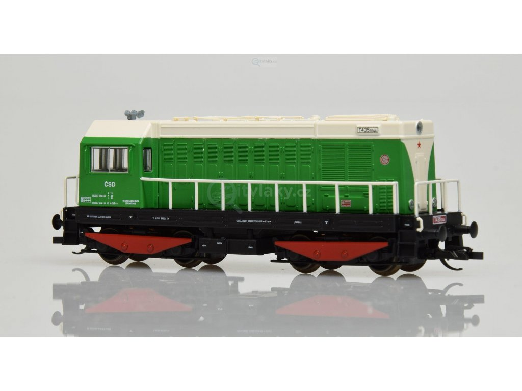 ARCHIV TT - dieselová lokomotiva T 435 ČSD HEKTOR / Tillig 02626