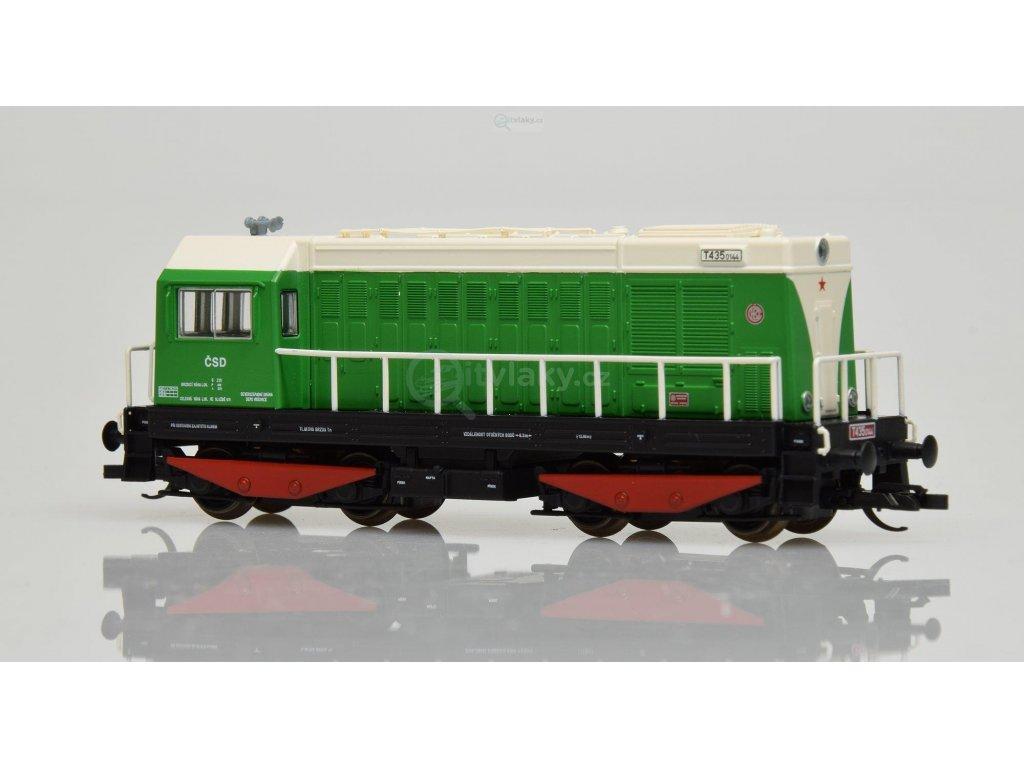TT - dieselová lokomotiva T 435 ČSD HEKTOR / Tillig 02626