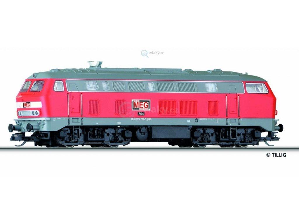 231373 tt dieselova lokomotiva br 218 meg tillig 02715