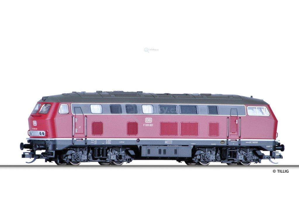 TT - Dieselová lokomotiva V 169 00, DB / Tillig 02742