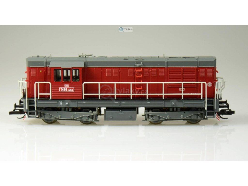 TT - Dieselová lokomotiva T466.2 (742) ČSD, KOCOUR / Tillig 02750