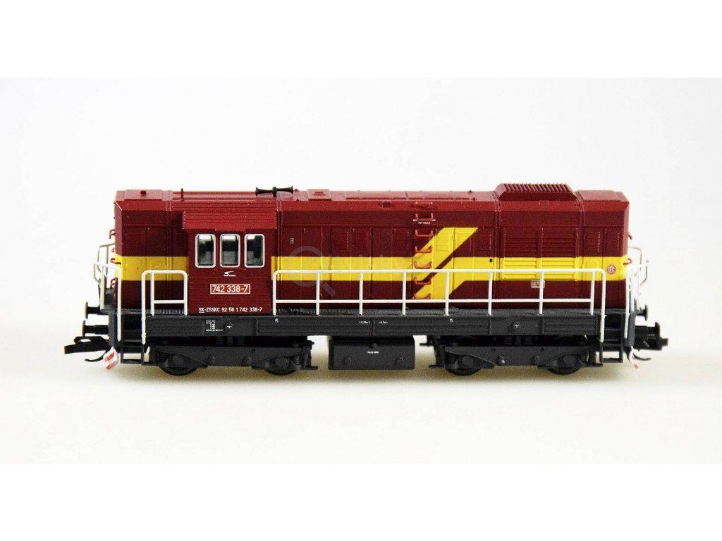 ARCHIV TT - dieselová lokomotiva 742 ZSSK, KOCOUR / Tillig 02752