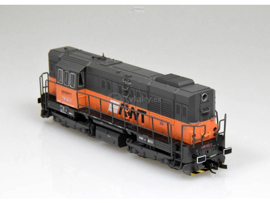 TT - dieselová lokomotiva 740 AWT CZ Kocour / Tillig 02753
