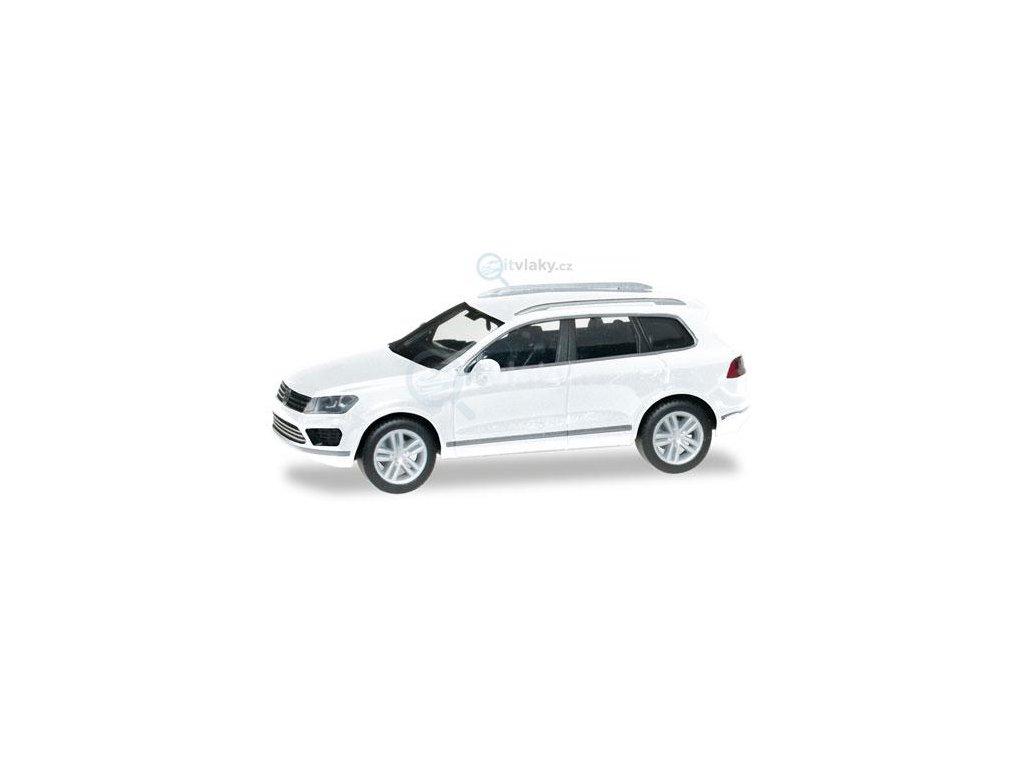 H0 -VW Touareg, bílá / Herpa 028479