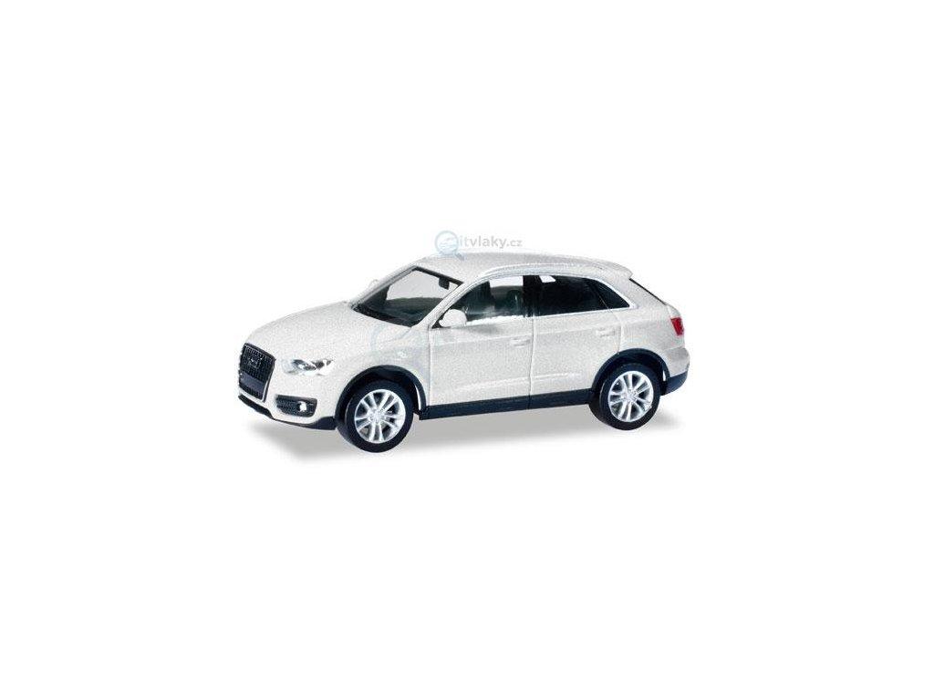 H0 - Audi Q3®, bílá / Herpa 034821