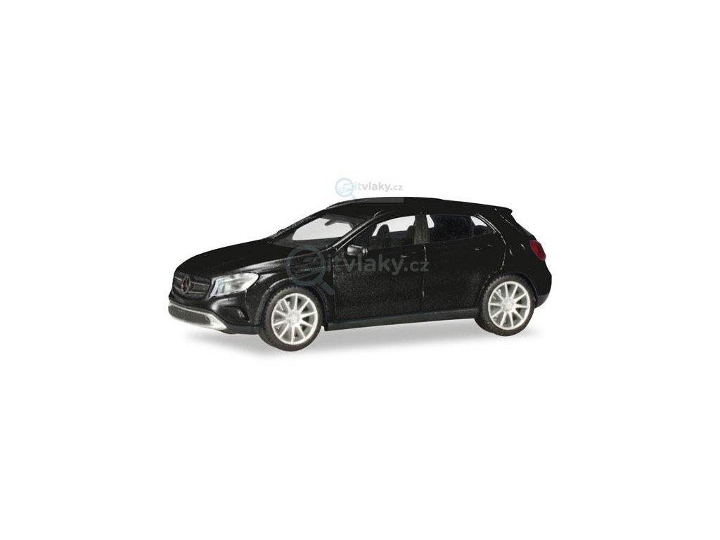 H0 - Mercedes-Benz GLA třídy, černá metalíza / Herpa 038317