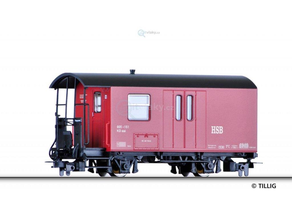 H0e Zavazadlový vůz HSB / Tillig 03971