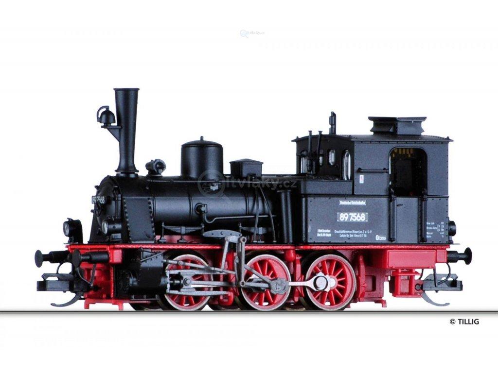 TT - DCC parní lokomotiva BR 89.70, DR / TILLIG 04240