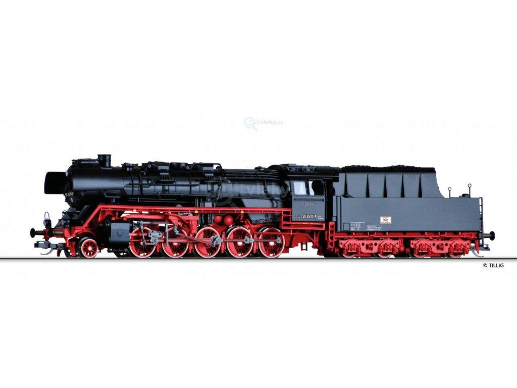 TT - Parní lokomotiva  BR 50.35 DR /  TILLIG 04290