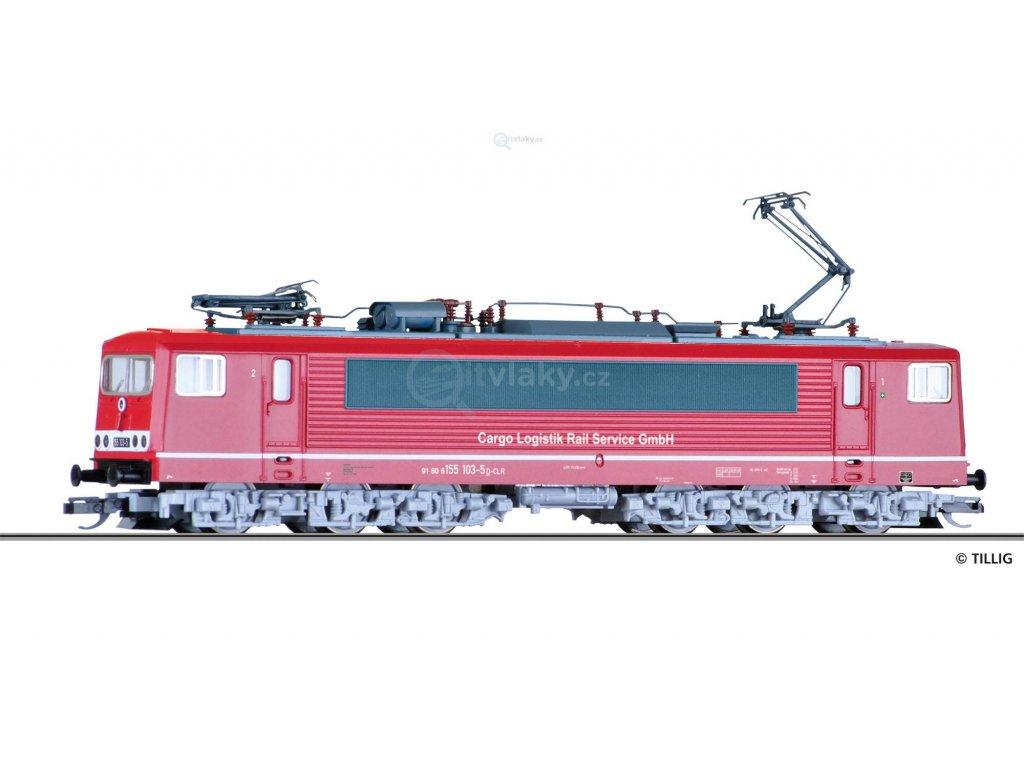 TT - Elektrická lokomotiva BR 155 103-5 / Tillig 04323