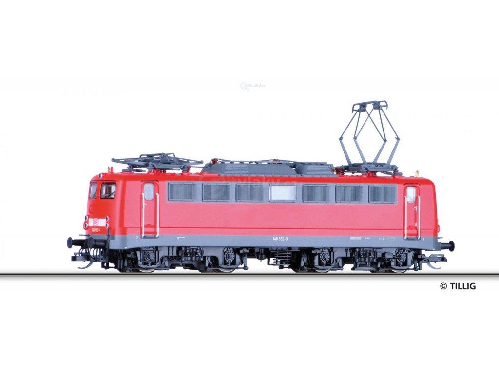 TT - Elektrická lokomotiva BR 140, DB AG / Tillig 04391