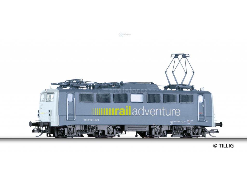 TT - Elektrická lokomotiva BR 139 558-1 RailAdventure / Tillig 04392