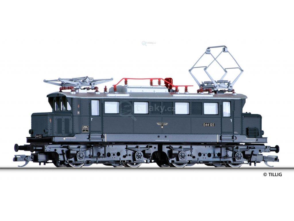 TT - Elektrická lokomotiva E 44, DRG / Tillig 04424