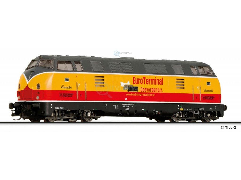ARCHIV TT - lokomotiva D 20 Bentheimer Eisenbahn AG / TILLIG 04510