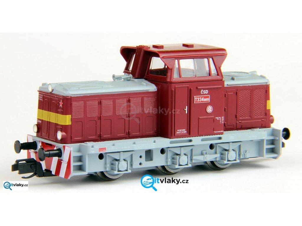 ARCHIV TT - Dieselové lokomotiva T 334 ČSD Rosnička / Tillig 04614