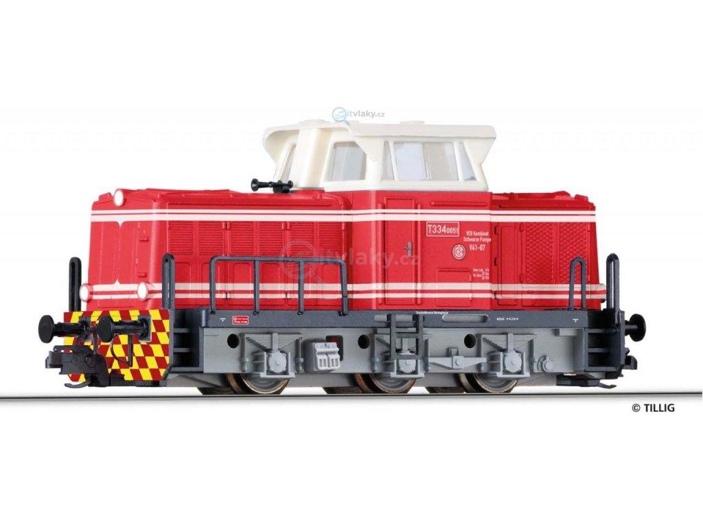 ARCHIV TT - lokomotiva T 334.0, Werklok / TILLIG 04616