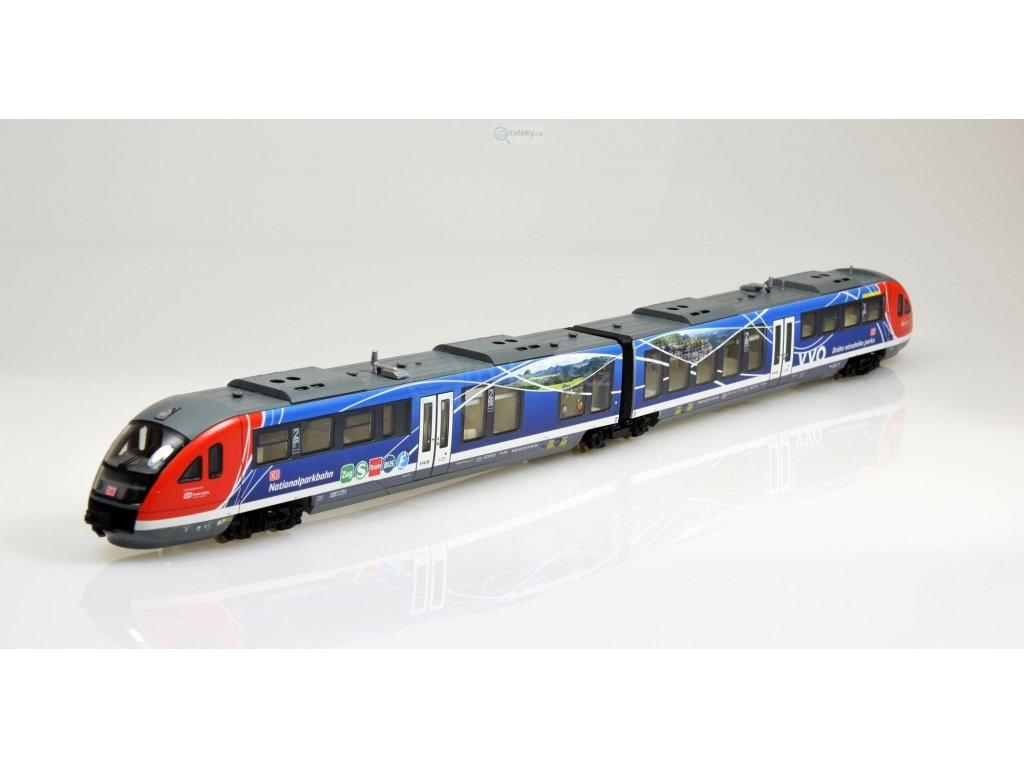 TT - jednotka Desiro 642 Nationalparkbahn DB AG CZ Děčín/ TILLIG 04880