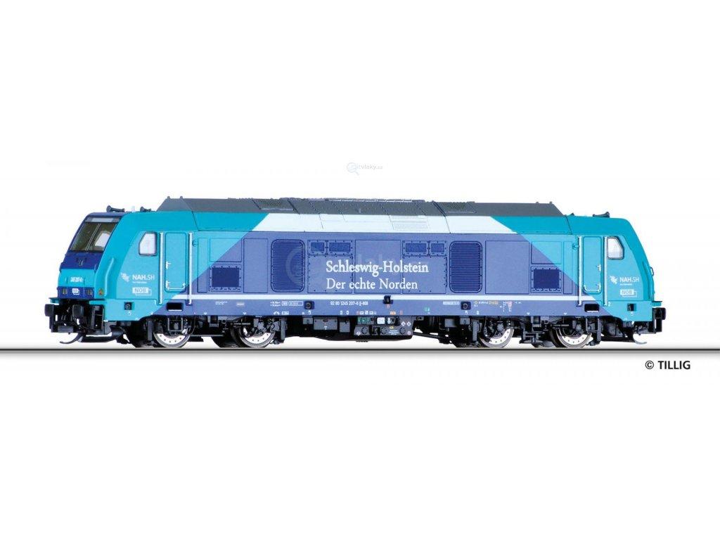 TT -  lokomotiva BR 245 NAH.SH PRIVAT/ TILLIG 04941