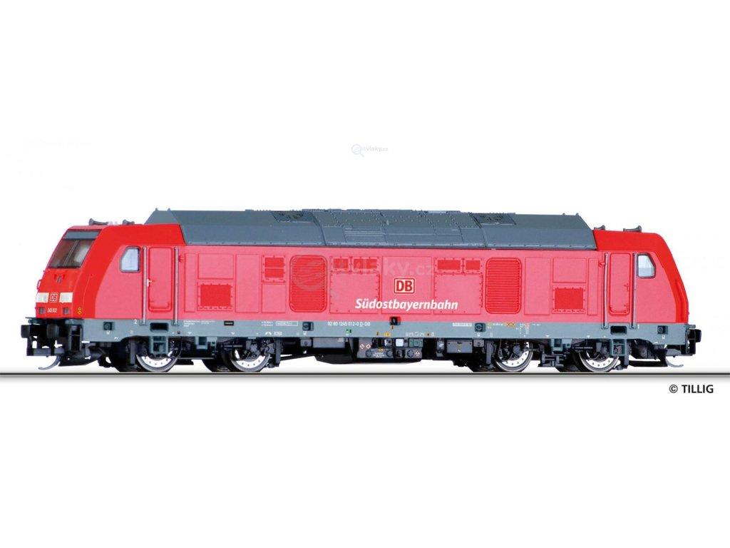 TT - Dieselová lokomotiva BR 245,DB AG / Tillig 04942