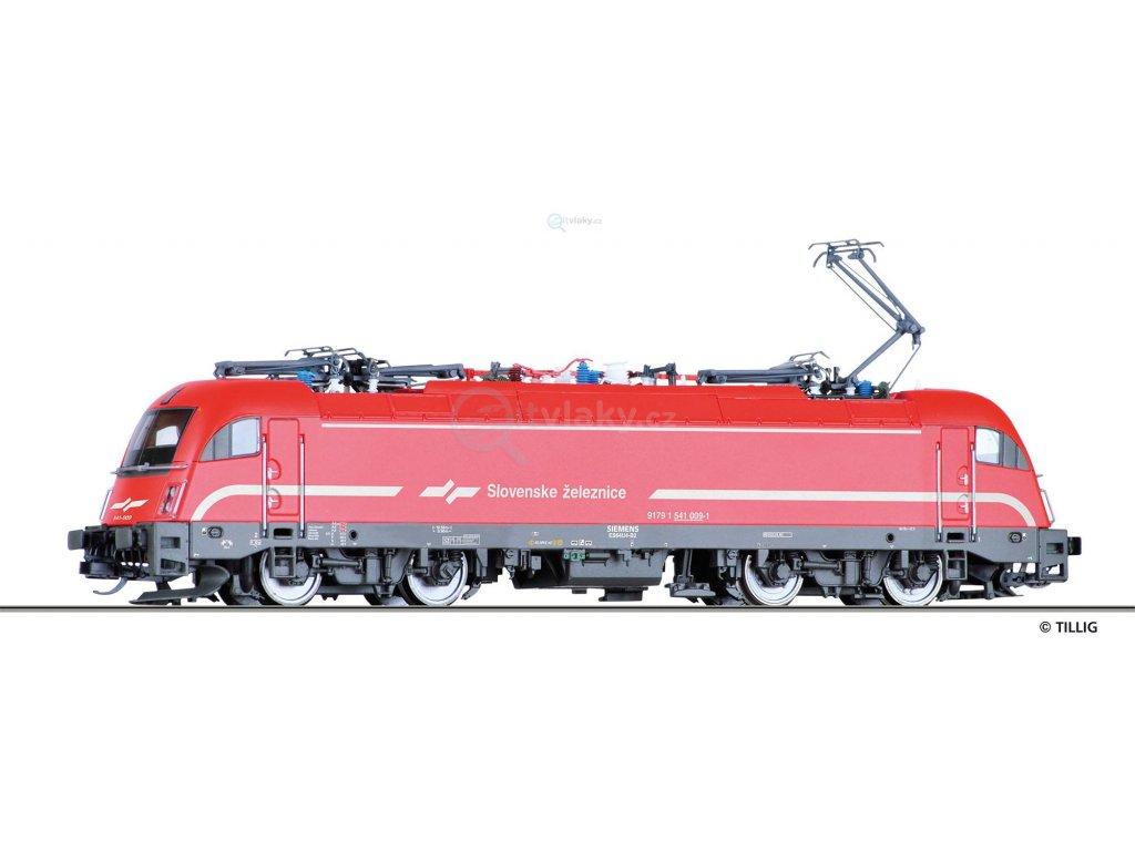 TT - Elektrická lokomotiva Rh 1541 Taurus, SZ / Tillig 04969