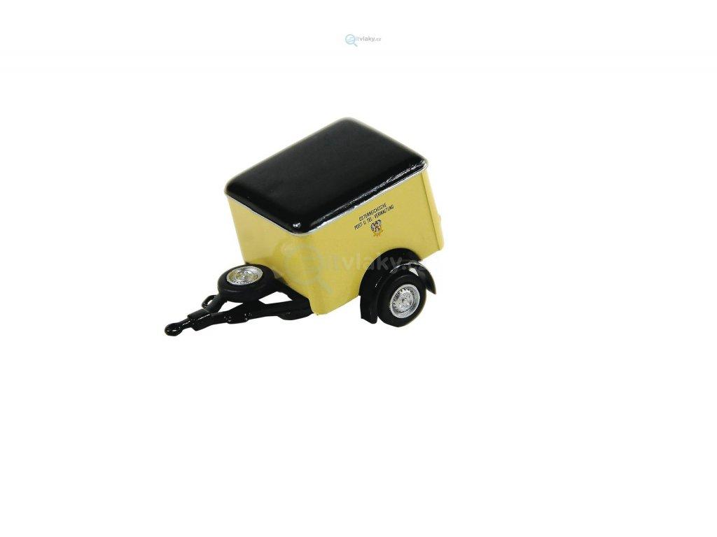 H0 - Zavazadlový přívěs pro autobusy / ROCO 05378