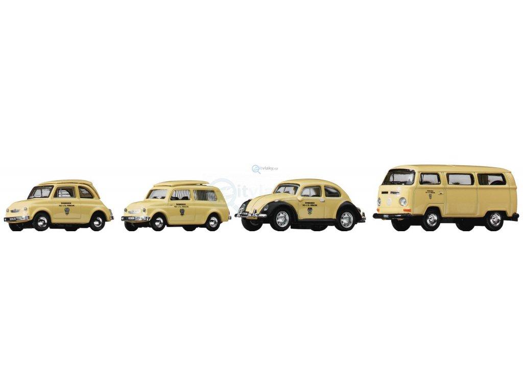H0 - Set poštovních vozidel / ROCO 05379