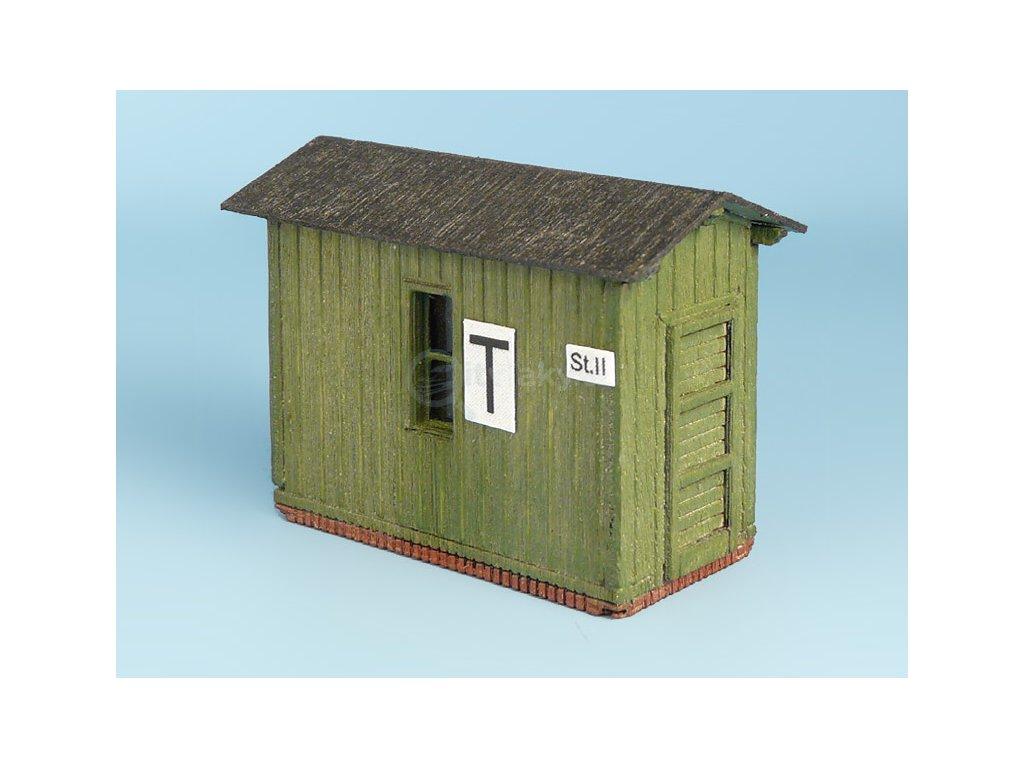 TT - Stanoviště výhybkáře zelené / Veramo 060202