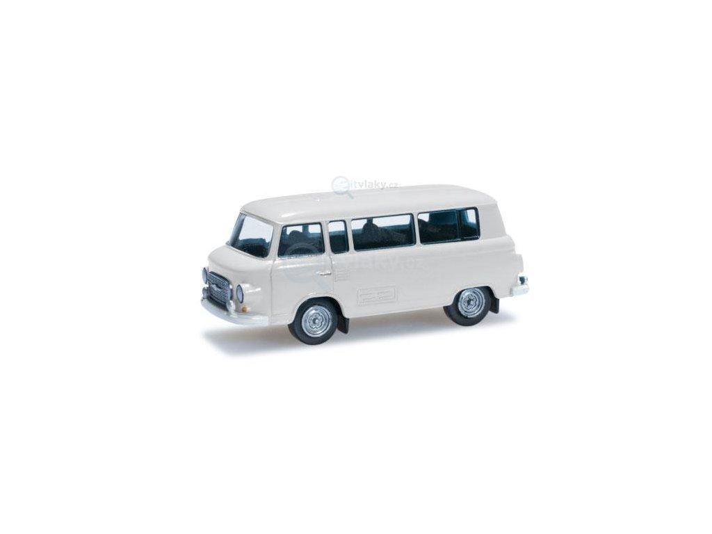 SLEVA! TT - Barkas B 1000 Bus, béžový / Herpa 066211 EPV
