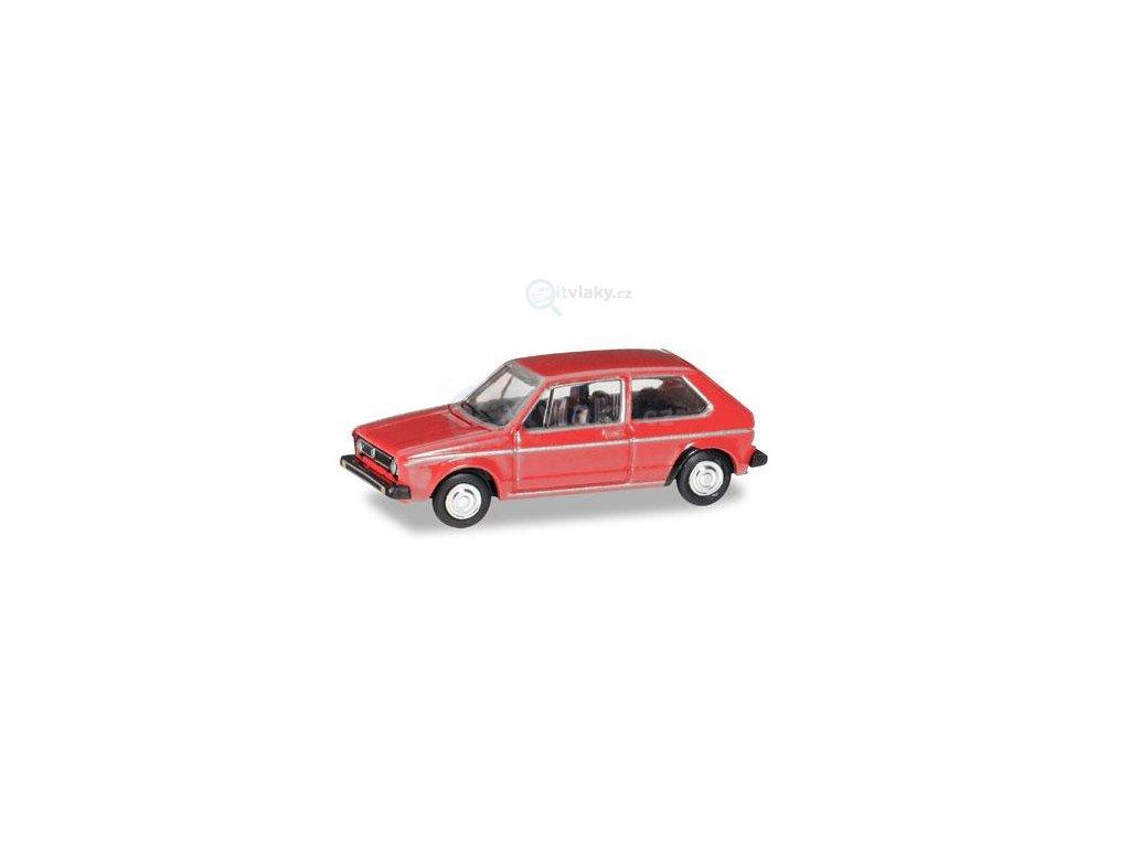 TT - Volkswagen Golf I., červená / Herpa 066617