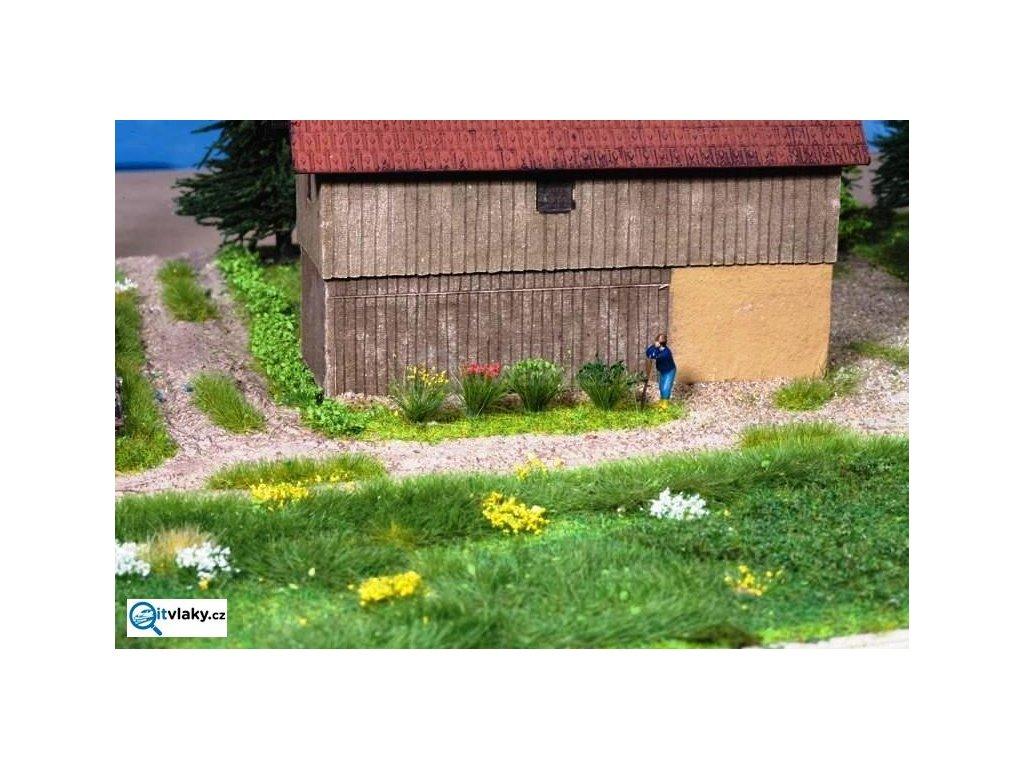 H0 - XL kvetoucí travní trsy / NOCH 07010