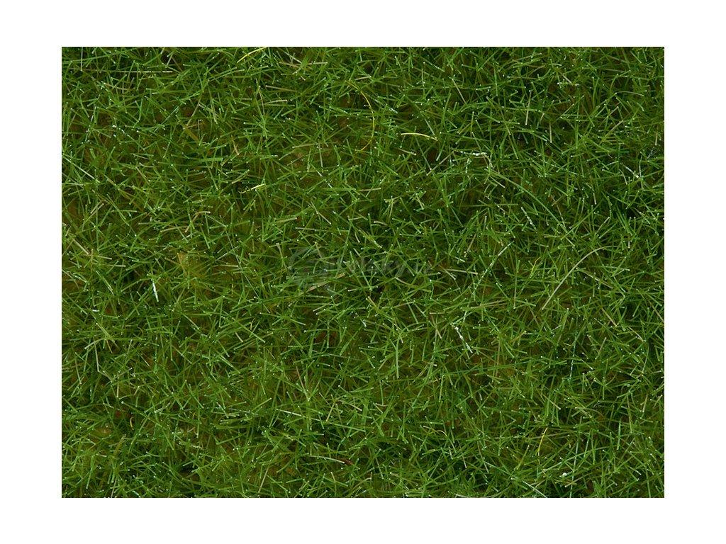 Divoká tráva - světle zelená statická BOX 100g, 6 mm, dóza / NOCH 07092