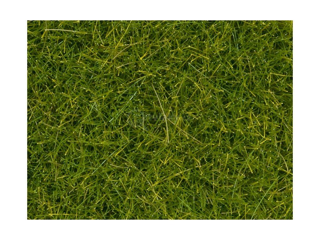 Divoká tráva XL- světle zelená statická BOX 80g, 12 mm, dóza / NOCH 07097