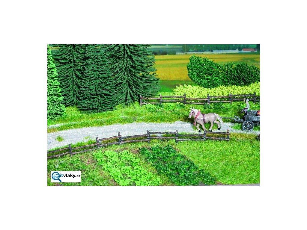 Travní trsy, zelené odstíny, 105 ks / NOCH 07133