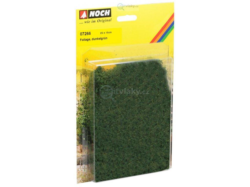 Foliáž, tmavě zelená / NOCH 07266