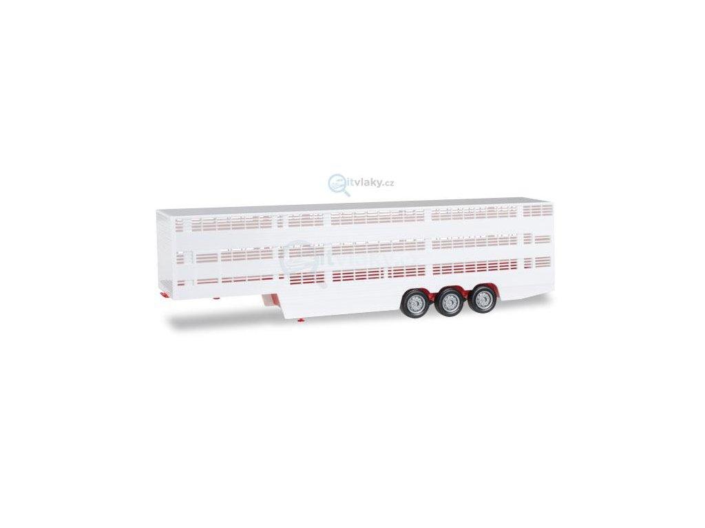 H0 - Přívěs na přepravu zvířat / HERPA 076333-002